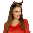 Velna radziņi uz stīpiņas, sarkani, vizuļojoši