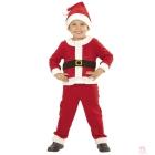 Santa Claus komplekts -  žakete, bikses, cepure 110 cm  3 - 4 gadu zenam
