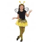 Bites komplekts (7 - 9 g), melns ar dzelteno. Komplektā tutu svārki, spārni un stīpiņa.
