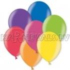 12cm lateksa balons, metalliks, assorti, 15 gab.