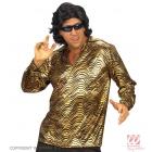 Diskotēkas stila blūze krekls zeltā vai sudrabā krāsā