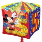 """Folijas hēlija balons kuba formā """"5.dzimšanas diena"""", Cubez ™, izmērs 38 x 38 cm,"""
