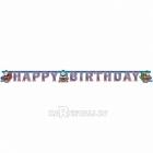 Papīra virtene dzimšanas dienai Tomas un Draugi, 180cm x 15cm.