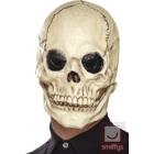 Galvaskausa maska, balta, lateksa, pilnas galvas maska