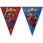 Vimpeļu (karodziņu)  virtene  (9 karodziņi) SPIDERMAN TEAM UP MARVEL svētku atribūtika