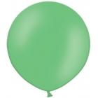 Apaļas formas liels lateksa balons spilgti zaļā krāsā, 60cm, pastelis, 1 gab.