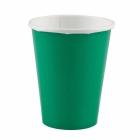 Papīra glazes zaļa krāsa 266 ml 8. gab