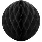 Šūnveida papīra bumba 20 cm melns