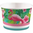 """Trauciņi uzkodām, saldējumam, ledum """"Flamingo Paradise""""  270 ml., 8 gab."""