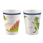 "Glāzītes ""Laimīgs Dinozaurs"" 250 ml., 8 gab."
