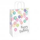 """Dāvanu maisiņi """"Dzimšanas diena pasteļtoņos"""" 2 gab."""