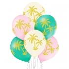 Gaisa baloni PALMAS, izmērs 30 cm., 6 gab