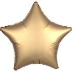 "Standard ""Satin Luxe Gold Sateen"" foil balons ZVAIGZNE 43 cm"