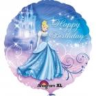 """Standard """"Cinderella Birthday"""" foil baloniņš 43 cm"""