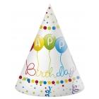 Dzimšanas diena konusa cepure 6.gab