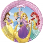 Šķīvji Princese  Disney 8 gab  20 cm