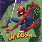 20.gab  2-kārtu  papīra salvetes 33x33cm SPIDERMAN TEAM UP MARVEL