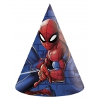 6 cepures  SPIDERMAN TEAM UP MARVEL  svētku atribūtika