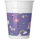 Plastmasas glāzes 8.gab MINNIE 200 ml