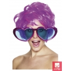 Milzīgas brilles sirsniņu formā, krāsās uz jūsu izvēli