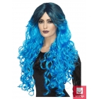 Gotiska grezna (glamūra) zila parūka