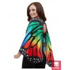 Tauriņa auduma spārni, daudzkrāsaini,140 cm