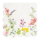"""Papīra salvetes """"Bohēmijas dārzs"""", 33 cm, 16 gab., dabai draudzīgs materiāls"""
