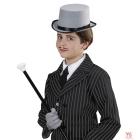 Cilindra cepure pelēka, bērnu izmērs