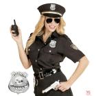 Policista žetons, nozīme, metāliskais