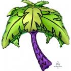 """Folijas hēlija balons """"Palm Tree"""", izmērs 74 x 83 cm, piepūšams ar hēliju"""