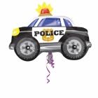 """Folijas hēlija balons """"Policijas auto"""", izmērs 60 x 45 cm,"""