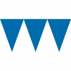 Vimpeļu virtene tumši zila - 24 karodziņi un 4.50 m lentīte