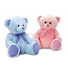Mazais Lācis bērnistabai. Rozā vai gaiši zilā krāsā,  35cm.