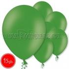 "10.5""/27cm  lateksa balons, pastels, zaļš,  15 gab."