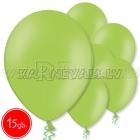 "10.5""/27cm  lateksa balons, pastels, laims,  15 gab."