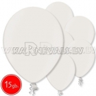 """12""""/30cm lateksa balons, metalliks, pērle, 15 gab."""