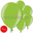 """12""""/30cm lateksa balons, metalliks, laima zaļa, 15 gab."""
