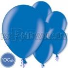 "Metalliks, zila, 10.5""/27cm lateksa baloni, 100 gab."