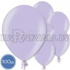 "Metalliks, gaiši violeta, 12""/30cm lateksa baloni 100.gab."
