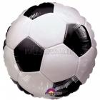 """18""""/45cm, folija balons, Tēma: Futbols"""
