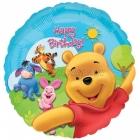 """18""""/45cm, folija balons,  Tēma:  Vinnijs Pūks"""