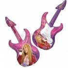 """Folijas hēlija balons """"Hanna Montana ģitāra"""" izmērs, 46 x 104 cm,"""