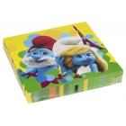 Dekoratīvās papīra salvetes Tēma: Smurfs Movie  32.7cm х 32,7cm 16.gab.