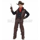 Kovboja kostīms 140cm - veste un bikses