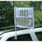 Tikko precējušies auto karodziņš