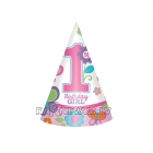 1 Dzimšanas diena konusa cepure