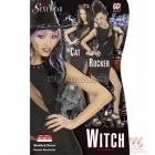 Raganas kleita, melna, M-izmērs