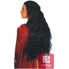 Guinevere parūka,  garie viļņaini mati, krāsa - melnā