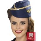 Stjuartes cepurīte, zils ar zelta lenti