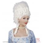 Parūka - MARIE ANTOINETTE -  baroka stils, baltā, visaugstākā kvalitāte